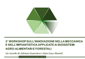 2nd Workshop on innovation in mechanics engineering applied to agro-food and forest biosystems at Agrilevante