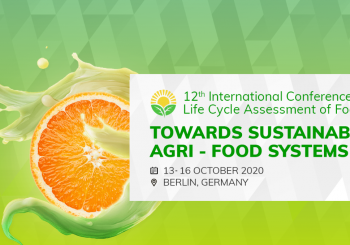 12th International Conference on Life Cycle Assessment of Food towards sustainable agri-food