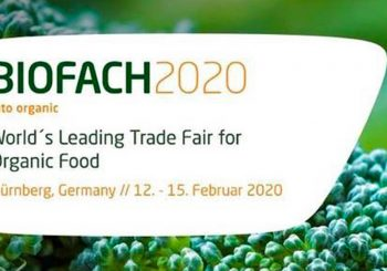 From 12th to 14th February 2020: BIOFACH Fair (Nuremberg, Germany)