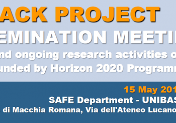 MyPack Project – Dissemination meeting (Potenza, Italy)
