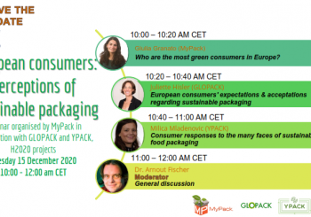 Free live webinar | European consumers: perceptions of sustainable packaging